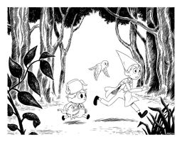 Over the Garden Wall by vern-argh