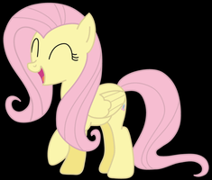 Fluttershy loves to smile by bluedragon14