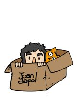 30.11.12. Cat In A Box by juandapo