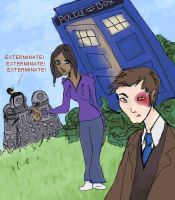 Doctor... Who? by CranberryZee