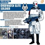 Overwatch Elite Soldier|Half-Life 2 by Pino44io