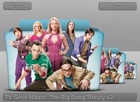 The Big Bang Theory v2 - Tv Series Folder Icon by atty12