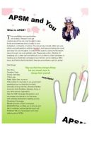 APSM Newsletter 2 by enjoincubus