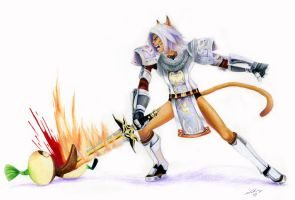 Maxstorm FFXI Commission by Laifierr