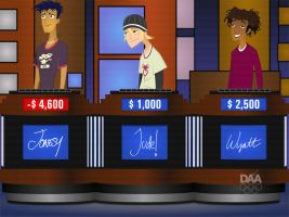 6TEEN on Jeopardy--REMAKE 2 by daanton