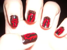 Horde Nails by Princespurple107