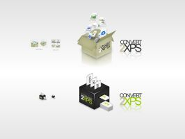 Convert2XPS Logo pack by dFEVER