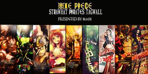 One Piece tagwall by Aura-Blade4