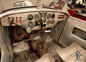 The Bomber Roadster Interior by Swanee3