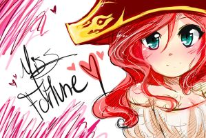 Miss Fortune/Chibi  Doodle LoL by wiissbb123600