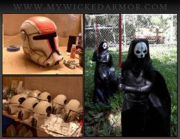 Star Wars armor replicas by charfade