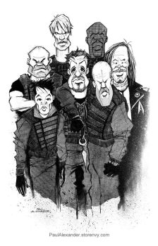 The Expendables by PaulAlexander1