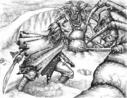 Battle in the Snow by leftee007