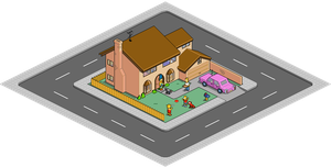 742 Evergreen Terrace Pixeldam by mrhaki