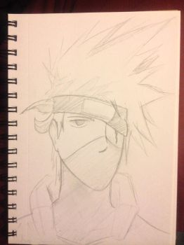 Sketchbook - Kakashi by shudso