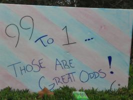 ...Great Odds... by Caedy