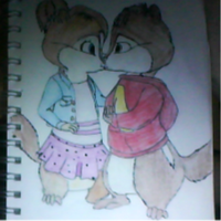 Alvin and brittany in love by jcis4me