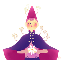 Over The Garden Wall by rosemaryleaves