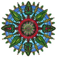Woodland Mandala by Artwyrd