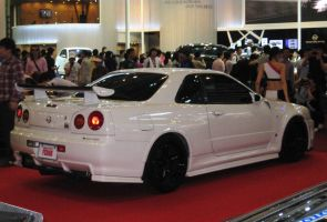 Nissan Skyline GTR R34 for XJK by Kia-Motors