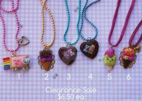 Clearance Sale!!! Necklaces by colourful-blossom