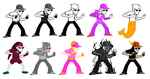 Bro Strider Sprite Edits by Jace-Cat