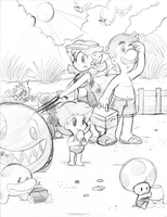VA pics: Family beach trip by Nintendrawer