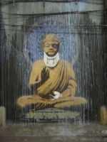 Buddha after a fight. by Sonic7