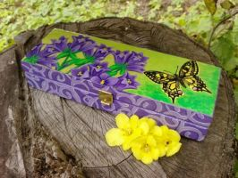 My Butterfly Pencilcase by Michaela9