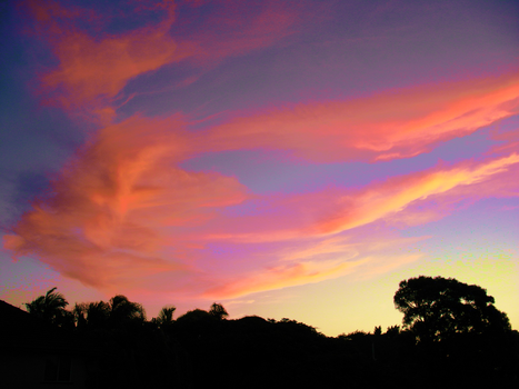 Sunset over Manly by RubyStrange