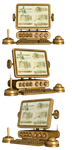 Steampunk Computer PNG Stock by Roys-Art