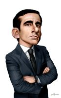 Steve Carell by Ek-cg