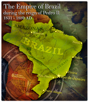 Civilization 5 Map: Empire of Brazil by JanBoruta