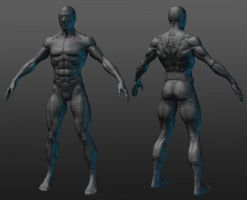 Spiderman Blue Zbrush model by RedHeretic