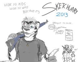 Sketchuary 02-01-2013 by Drake-TigerClaw