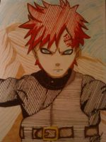 Kazekage Gaara of the Sand by AwesomeCAS