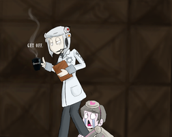 SAVE ME GLaDOS by Super-Cute