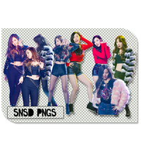 SNSD-pngs-by-SuSimSi by SuSimSi