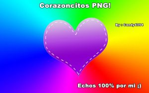 Corazones PNGS! by Candy4354