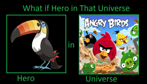 What if Toucannon was in Angry Birds Universe