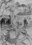 Requiem Comic real page 1 read right to left by ZigfriedVonSchroider