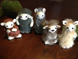 OOAK Spirit Guide Creatures - FOR SALE by Mel2DaIssa