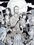 The Walking Dead - Grimes Family by calslayton