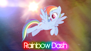 Rainbow Dash Wallpaper by StoneHot316