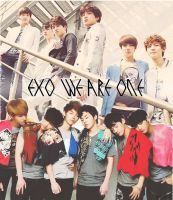 EXO Graphic 01 by bananamilk-tae