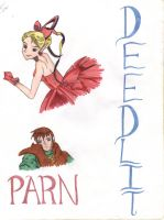 Deedlit and Parn by LilTeri