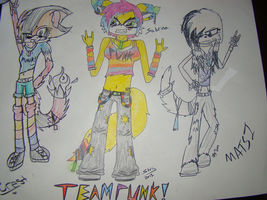 .:COLLAB:. Team Punk by constantlyBuzzing