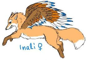 iScribble: Inali in Flight by Joava