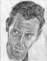 Hugh Laurie by KaitlinStocco