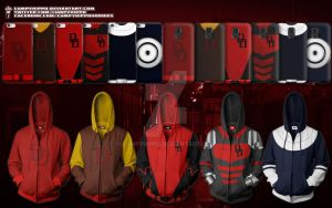 DareDevil Hoodies by lumpyhippo